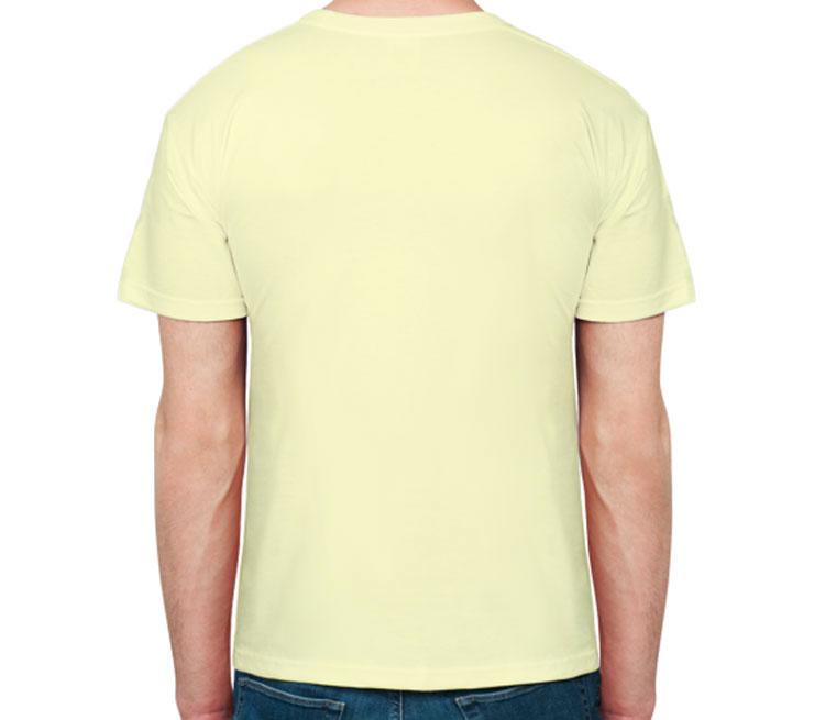The big bang theory мужская футболка с коротким рукавом (цвет: слоновая кость, 100% хлопок)