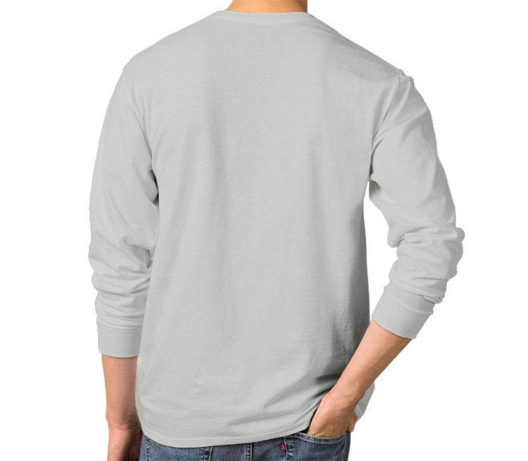 Jake the Bender мужская футболка с длинным рукавом (цвет: серебро, 100% хлопок)