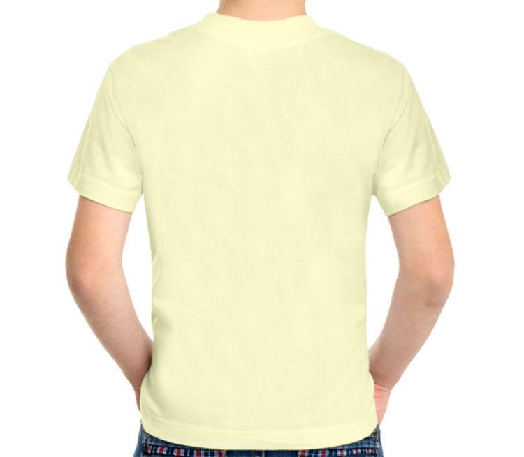 I belive in Sherlock Holmes детская футболка с коротким рукавом (цвет: слоновая кость, 100% хлопок)