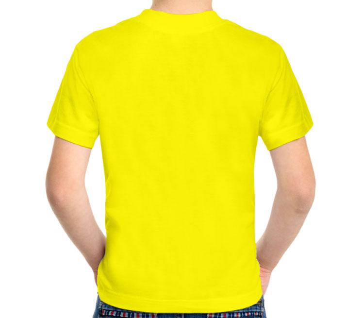 OPEL (Опель) детская футболка с коротким рукавом (цвет: лимон, 100% хлопок)