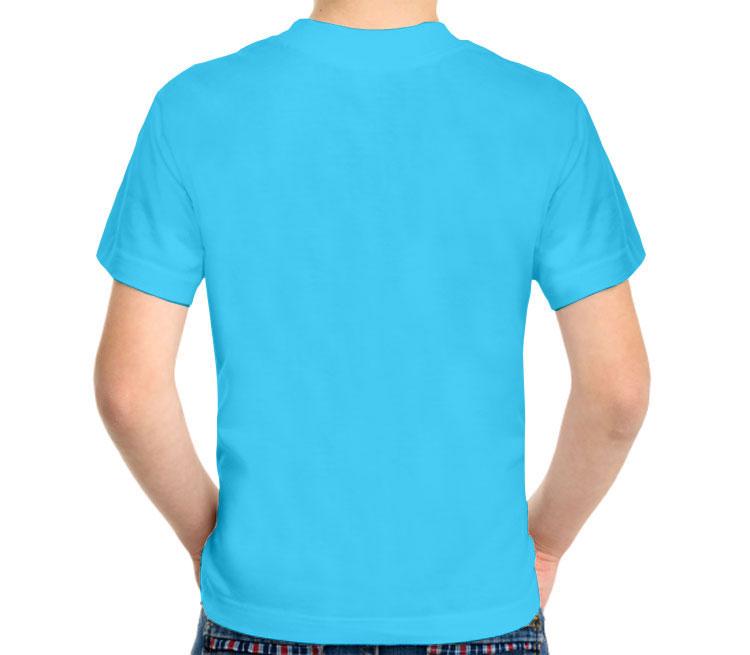 Dalek - Exterminate детская футболка с коротким рукавом (цвет: небесный, 100% хлопок)
