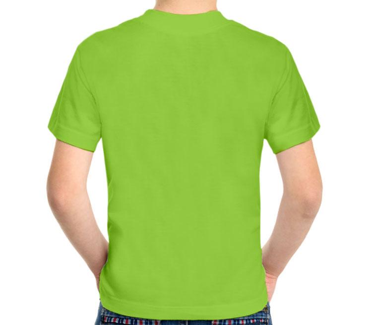 Совушки детская футболка с коротким рукавом (цвет: салатовый, 100% хлопок)