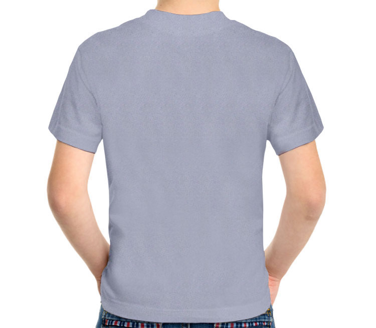 Super Мама детская футболка с коротким рукавом (цвет: голубой меланж)